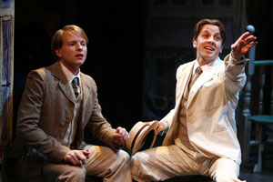 Teddy Eck and Justin Packard in Take Me Along