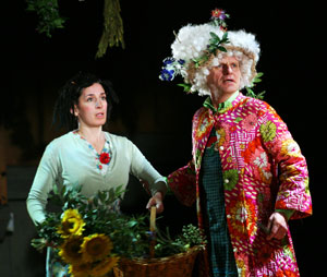 Edith Tankus and Mike Shepherd in Rapunzel