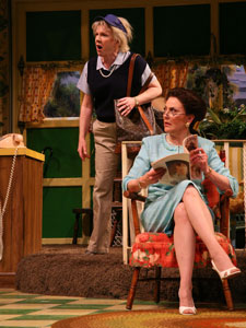 Beth Fowler and Kelly Bishop