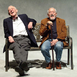 John Mahoney and Mike Nussbaum in Better Late