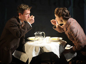 Tristan Sturrock and Naomi Frederick
