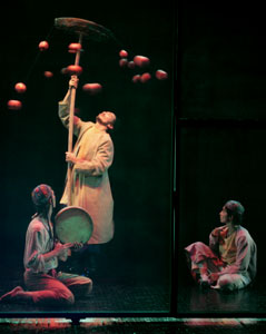 A scene from Ecstasy With The Pomegranate