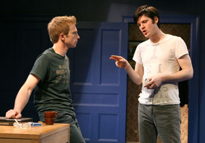 Gideon Banner and Michael Esper in The Four of Us