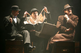 Arnie Burton, Cliff Saunders, and Charles Edwards