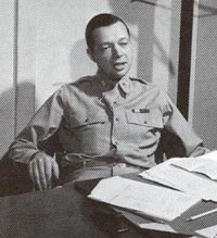 Jo Mielziner in WWII uniform