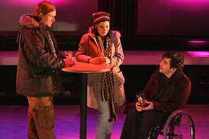 Michael Chernus, Susan Pourfar, and Christopher Thornton