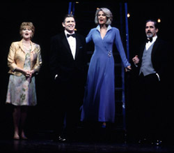 Judith Ivey, Treat Williams, Blythe Danner,and Gregory Harrison in Follies(Photo: Joan Marcus)