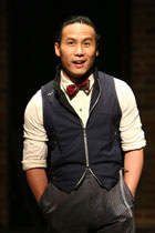 BD Wong in Herringbone