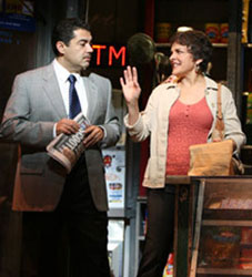 Carlos Gomez and Priscilla Lopez in In the Heights