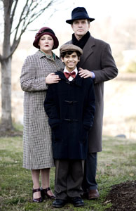 Tracy Lynn Olivera, Jace Casey, and George Dvorsky in The Happy Time (© Scott Suchman)