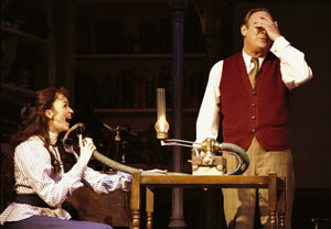 Lisa O'Hare and Christopher Cazenove in My Fair Lady