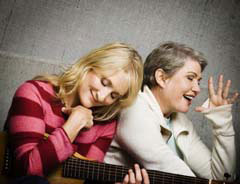 Jill Sobule and Julia Sweeney