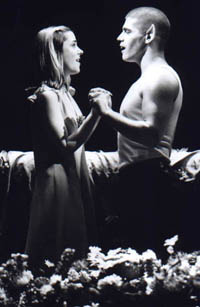 Kerry Butler and Deven May in Bat Boy