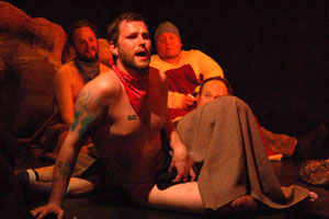 A scene from Cannibal The Musical