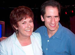 Seth Rudetsky with Judy Kaye(Photo: Forrest Mallard)