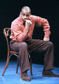 Ruben Santiago-Hudson in Lackawanna Blues(Photo: Michal Daniel)
