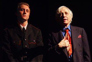 Justin Grace and Austin Pendleton