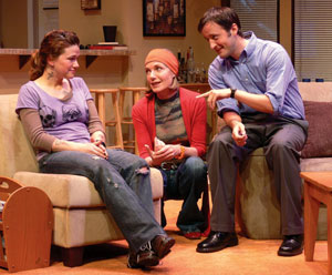 Hedy Burress, Susan Sullivan, and Timothy Hornor