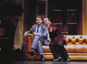 Matthew Broderick and Nathan Lane in The Producers(Photo: Paul Kolnik)