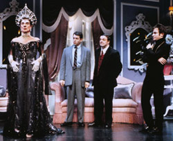 Gary Beach, Matthew Broderick, Nathan Lane,and Roger Bart in The Producers(Photo: Paul Kolnik)