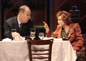 Paxton Whitehead and Cecilia Hart in Time of My Life (© T Charles Erickson)