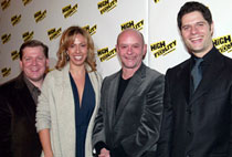 David Lindsay-Abaire, Amanda Green,Nick Hornby, and Tom Kitt