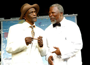 Winston Ntshona and John Kani in Sizwe Banzi is Dead