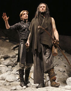 Seth Numrich and Boris McGiver