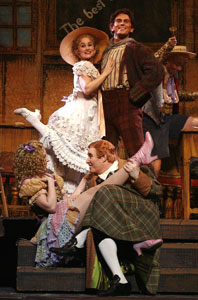 Lauren Worsham, Daniel Reichard,