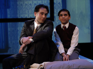Michael Minarik and Jace Casey in The Happy Time (© Stan Barouh)