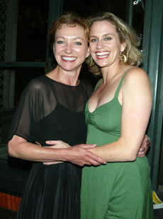 Julie White and Cady Huffman