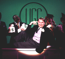 John Cullum in Urinetown(Photo:  Joan Marcus)