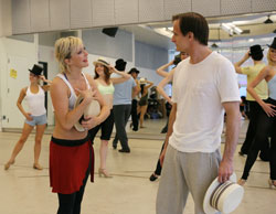 Nikki Snelson, Michael Gruber, and company