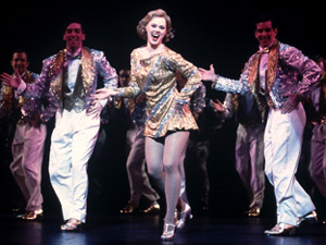 Kate Levering (center) and ensemble in 42nd Street(Photo: Joan Marcus)