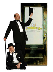 Scott Davidson and Jim Stanek in The Producers (© Paul Lyden)
