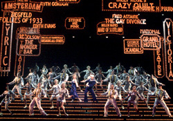 A big moment from 42nd Street(Photo: Joan Marcus)