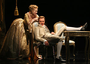 Laura Linney and Ben Daniels