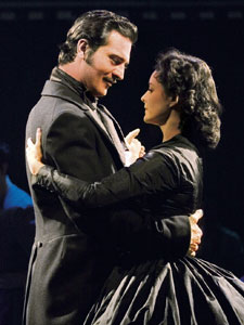 Darius Danesh and Jill Paice
