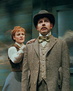 Erika Rolfsrud and Gregory Jackson in O Pioneers!(Photo: Ken Howard)