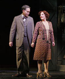 Boyd Gaines and Patti LuPone in Gypsy
