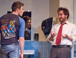 Greg Siff and Jason Weissbrod in the nothing boys (© June Czerwinski)