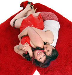 Annie Sprinkle and Elizabeth Stephens