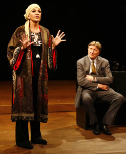 Mercedes Ruehl and Larry Bryggman