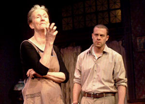 Kathleen Chalfant and Matthew Rauch in Red Dog Howls