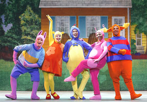 A scene from Backyardigans Live!
