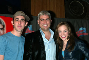 Max Crumm, Taylor Hicks and Laura Osnes