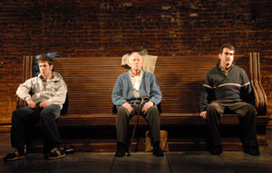 John Gallagher, Jr., Jim Norton, and Brian d'Arcy James