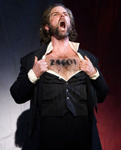 Hugh Panaro in Les Miserables