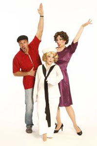 Michael West, Christina Bianco, and