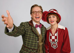 Ben Nordstrom and Mamie Parris in Thoroughly Modern Millie